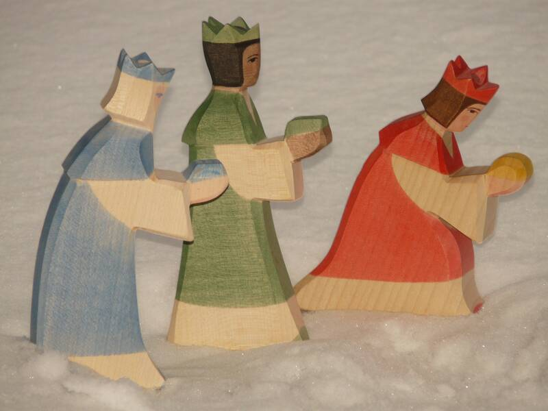 holy three kings, santon, crib - LebensMittelpunkt Garten e.V.